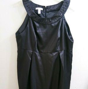 London Times Little Black Dress 14 NWT